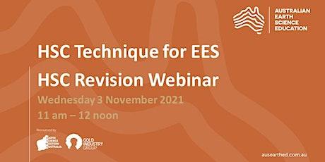 HSC Technique for EES Webinar tickets