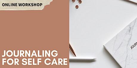 EXPRESSION OF INTEREST: Bullet Journaling for Self Care: Online Workshop tickets
