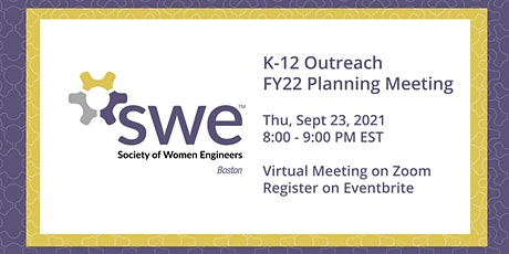 SWE Boston FY22 Outreach Planning Meeting tickets
