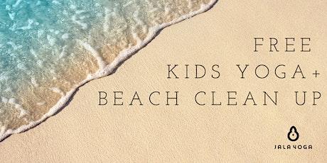Free Kids Yoga + Beach Clean Up tickets
