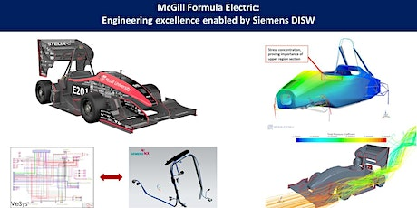 McGill Formula Electric: Engineering excellence enabled by Siemens DISW tickets