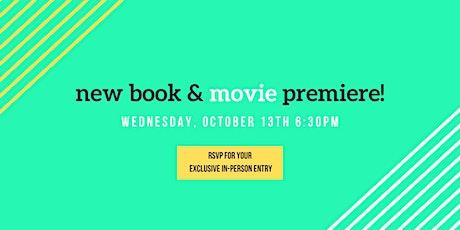 New Book & Movie Premiere tickets
