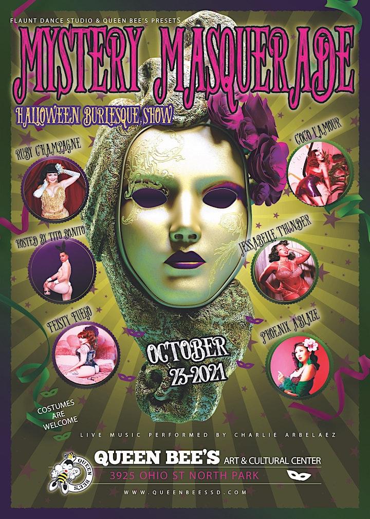 Mystery Masquerade: Halloween Burlesque Show image