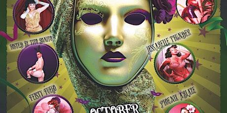Mystery Masquerade: Halloween Burlesque Show tickets