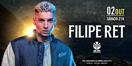 Filipe Ret | 02Out21 | 21h ingressos