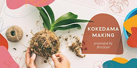 Kokedama Making with BrisStyle tickets