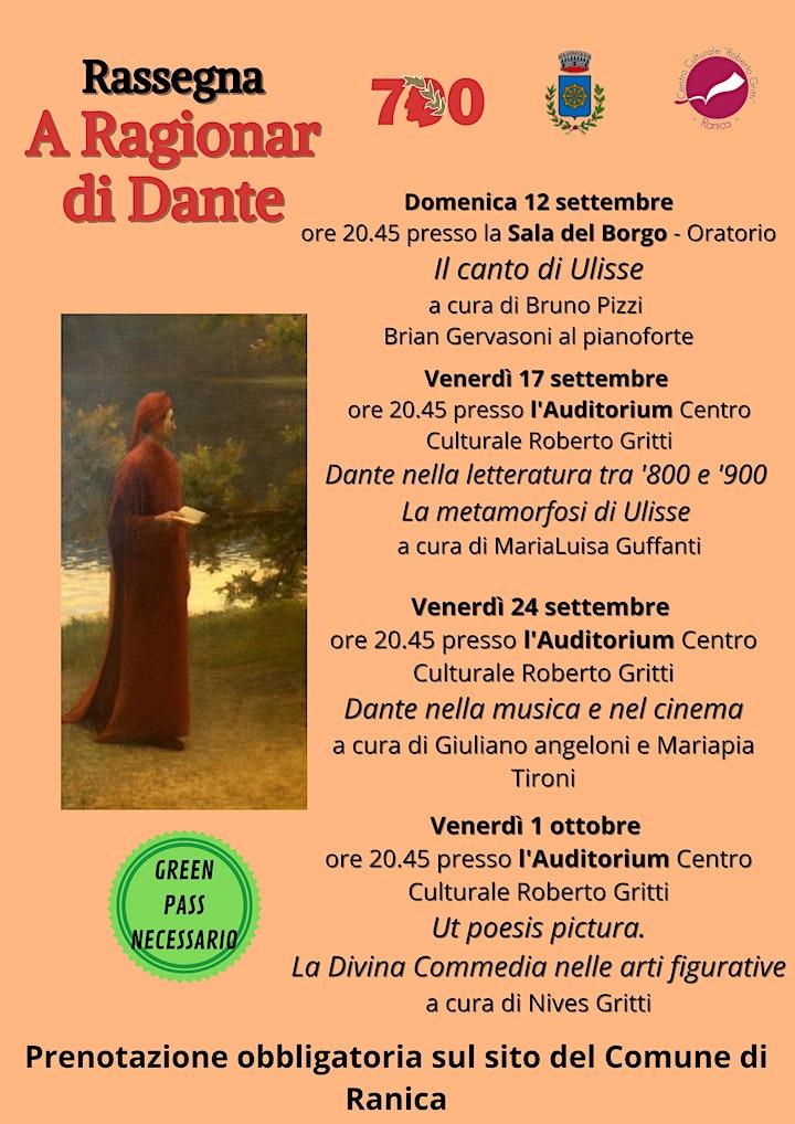 Immagine A ragionar di Dante - Il canto di Ulisse
