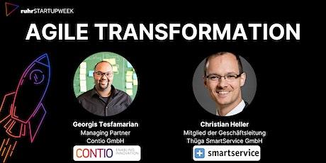 ruhrSTARTUPWEEK 2021 / Agile Transformation Tickets
