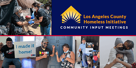 SAVE THE DATE: South Bay/Harbor Cities Community Input on Homelessness tickets