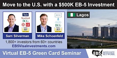 Lagos EB-5 American Green Card Virtual Seminar entradas