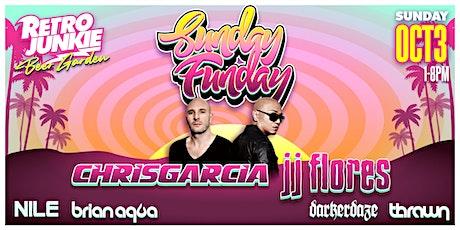 Sunday Funday: Chris Garcia and JJ Flores LIVE @ Retro Junkie tickets