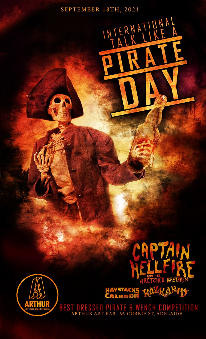 International Talk Like a Pirate Day Party image