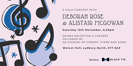 A Gala Concert with Deborah Rose and Alistair McGowan tickets