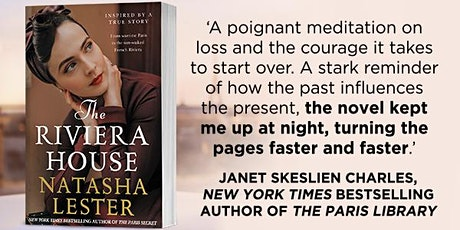 Natasha Lester - in-person Author Talk at Willetton Library tickets
