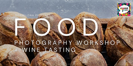 MARGARET RIVER OPEN STUDIOS Food Photography Workshop and Wine Tasting tickets
