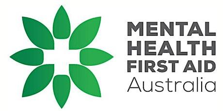 Standard Mental Health First Aid Bunbury tickets
