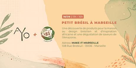 Petit Brésil à Marseille billets