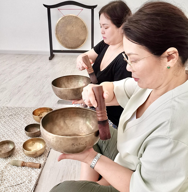 Practice with Christina - Singing Bowl Practice Group image