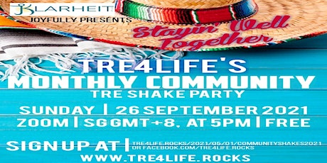 TRE® - Monthly Community Shakes For Practitioners tickets