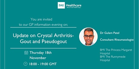 Update on Crystal Arthritis- Gout and Pseudogout tickets