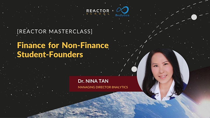 Reactor Masterclass: Finance for Non-Finance Student Founders image