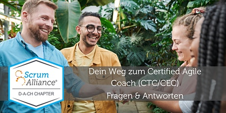 Dein Weg zum Certified Agile Coach (CTC / CEC) Tickets