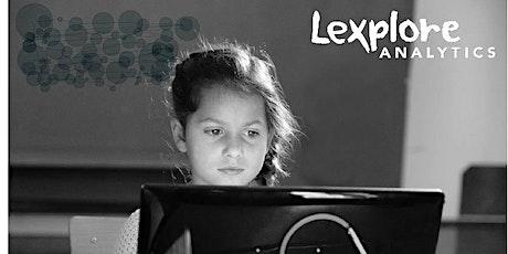 Lexplore Analytics - Eye Tracking Reading Assessment Demonstration tickets