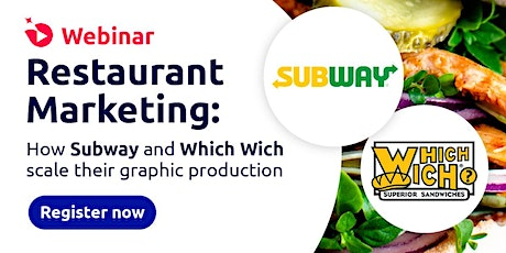 Restaurant Marketing: How Subway and Which Wich scale their graphic product tickets