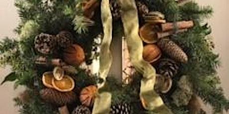Luxury Christmas Wreath Workshop (Morning 10:30am-12:30pm) tickets