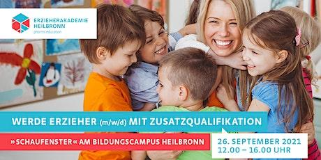 """""""Schaufenster"""" am Bildungscampus - Tag der offenen Tür Tickets"""