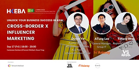 Unlock your business success in Asia: Cross-border x Influencer Marketing tickets