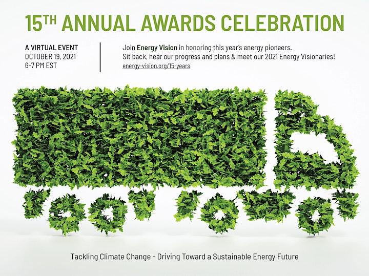 Energy Vision's 15th Anniversary Leadership Awards Reception image