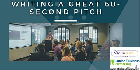 Writing a great 60-second pitch tickets