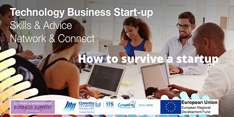 How to survive a startup  - a startup essential webinar tickets