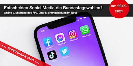 Entscheiden Social Media die Bundestagswahlen? Tickets