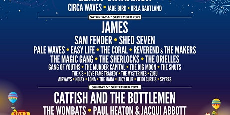 Two tickets for Neighbourhood Weekender 2021 (Saturday only) tickets