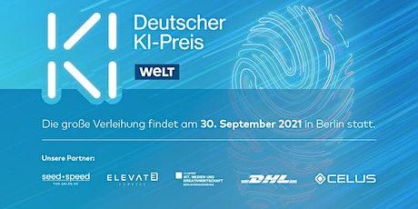 Deutscher KI-Preis 2021 Tickets
