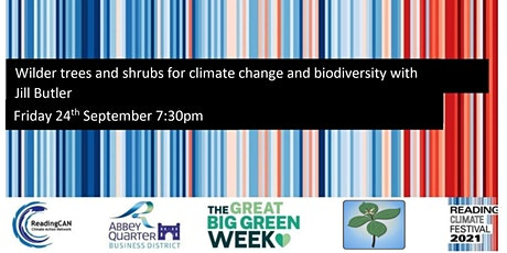 Wilder trees and shrubs for climate change and biodiversity tickets