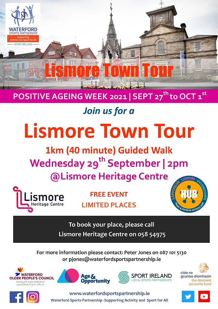 Positive Ageing Week -  Lismore Town guided tour image