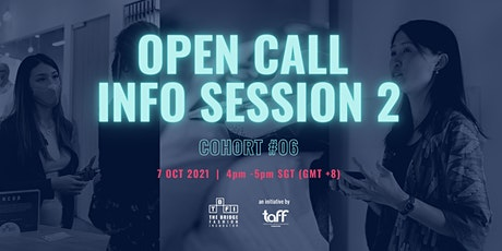 The Bridge Fashion Incubator (TBFI)|Cohort 6 Open Call Info Session 2 tickets