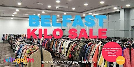 Belfast Kilo Sale Pop Up 26th September tickets