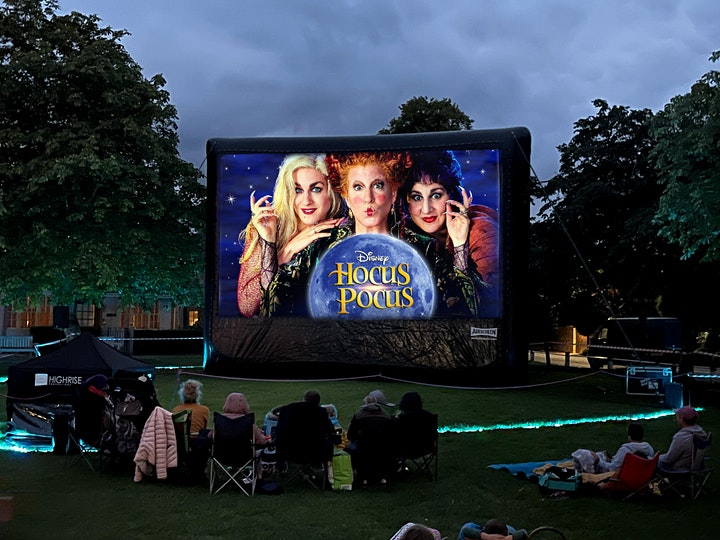 Halloween showing of Hocus Pocus on Pembrey's Country Park Outdoor Cinema image
