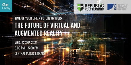 The Future of Virtual and Augmented Reality | TOYL x Future of Work tickets