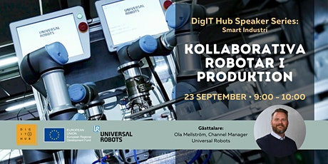 DigIT Hub Speaker Series: Kollaborativa robotor i produktion Tickets