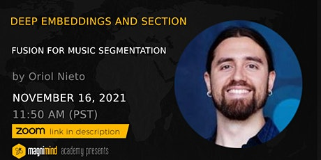 Deep Embeddings and Section Fusion for Music Segmentation tickets