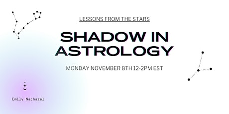 Shadow in Astrology tickets