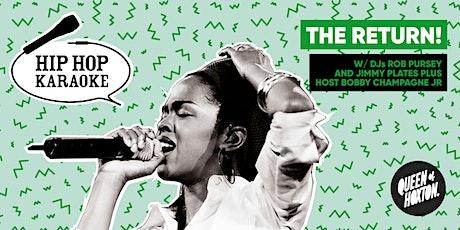 Hip Hop Karaoke! tickets