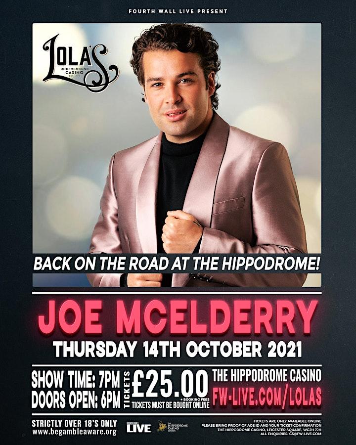 Joe McElderry - Back on the road! image