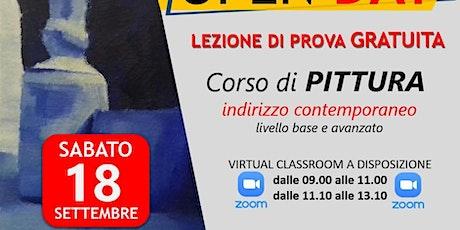 OPEN DAY GRATUITO CORSO DI PITTURA ONLINE biglietti