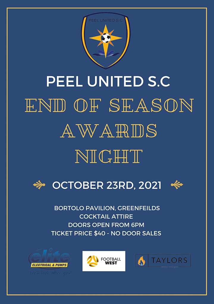Peel United S.C End of Season Awards Night image